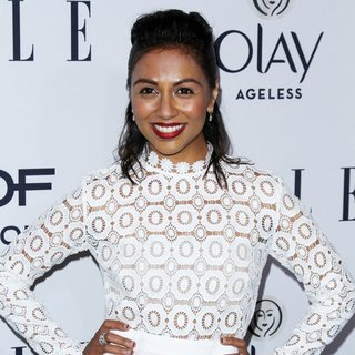 Karen David in ELLE's 6th Annual Women in Television Celebration Presented by Hearts on Fire Diamonds and Olay