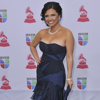 Karen Hoyos in 13th Annual Latin Grammy Awards - Arrivals