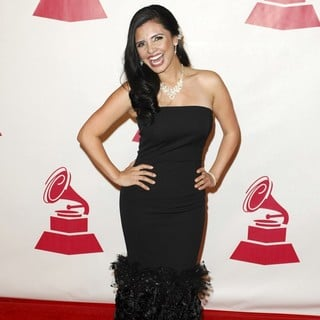 Karen Hoyos in 2011 Latin Recording Academy Person of The Year Tribute to Shakira