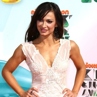 Karina Smirnoff in 2012 Kids' Choice Awards - Arrivals