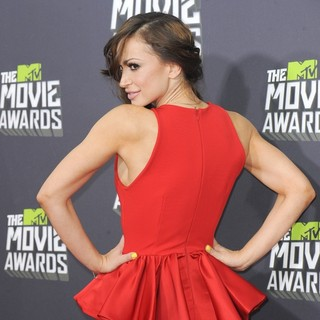 Karina Smirnoff in 2013 MTV Movie Awards - Arrivals - karina-smirnoff-2013-mtv-movie-awards-05
