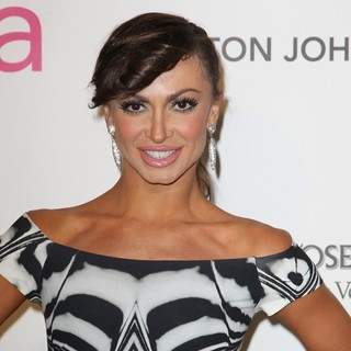 Karina Smirnoff in 21st Annual Elton John AIDS Foundation's Oscar Viewing Party