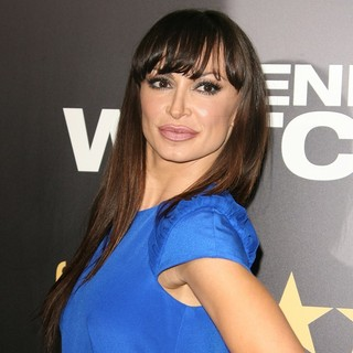 Karina Smirnoff in Los Angeles Premiere of End of Watch