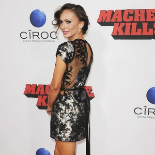 Karina Smirnoff in Premiere of Open Road Films' Machete Kills