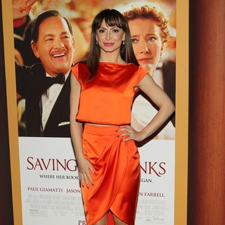 Karina Smirnoff in Saving Mr. Banks Los Angeles Premiere