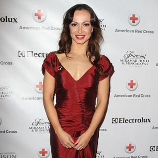 Karina Smirnoff in American Red Cross Annual Red Tie Affair
