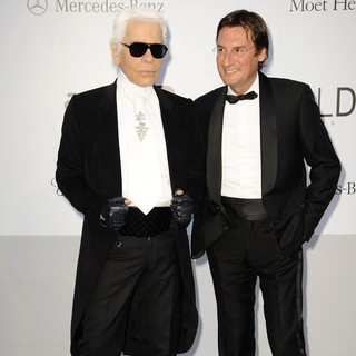 Karl Lagerfeld in AmfAR's Cinema Against AIDS Gala 2012 - During The 65th Annual Cannes Film Festival