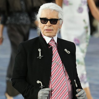 Karl Lagerfeld in Paris Fashion Week Spring-Summer 2013 - Chanel - Front Row