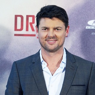 Karl Urban in The Dredd 3D Photocall