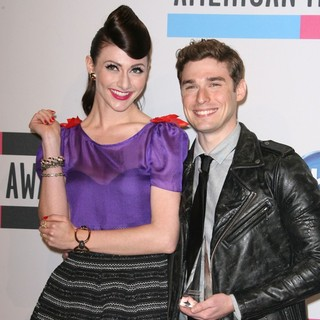 Karmin in 2011 American Music Awards - Press Room