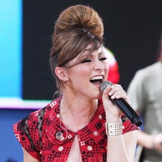 Amy Heidemann, Karmin in Karmin Perform Live as Part of Good Morning America's Summer Concert Series