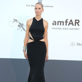 Karolina Kurkova in 66th Cannes Film Festival - amfAR's 20th Annual Cinema Against AIDS - Arrivals
