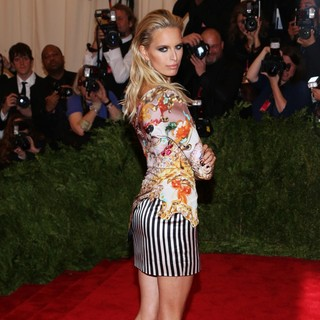 Karolina Kurkova in PUNK: Chaos to Couture Costume Institute Gala