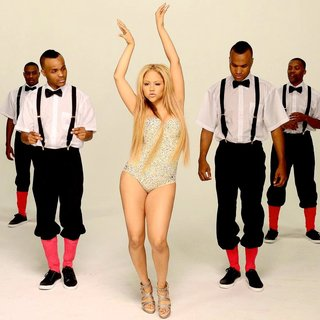 Kat DeLuna in Kat DeLuna Drop It Low Video Shoot