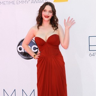 Kat Dennings in 64th Annual Primetime Emmy Awards - Arrivals