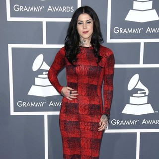 Kat Von D in 55th Annual GRAMMY Awards - Arrivals