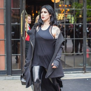 Kat Von D Spotted in SoHo