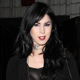 Kat Von D in An Evening with Women 2012 Kick Off Party