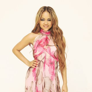 Kat DeLuna in Kat DeLuna On The Set of Her New Music Video for 'Dancing Tonight'