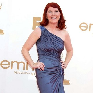 Kate Flannery in The 63rd Primetime Emmy Awards - Arrivals