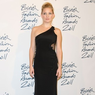 British Fashion Awards 2011 - Press Room