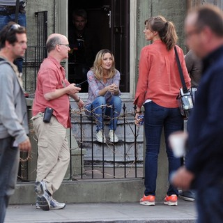 Kate Hudson - Filming Movie Good People on Location