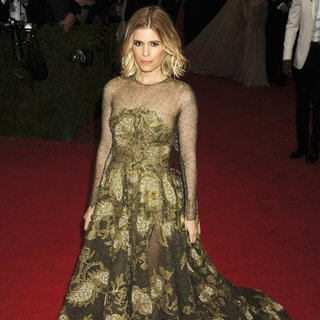 Kate Mara in Charles James: Beyond Fashion Costume Institute Gala - Arrivals
