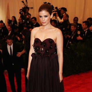Kate Mara in PUNK: Chaos to Couture Costume Institute Gala
