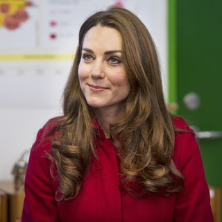 Kate Middleton in Kate Middleton and Prince William at The UNICEF Emergency Supply Centre