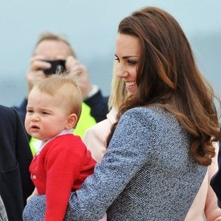 Prince of Cambridge, Kate Middleton in Kate Middleton and Prince George Depart Australia from Defence Establishment Fairbairn
