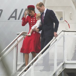 Kate Middleton, Prince of Cambridge, Prince William in The Duke and Duchess of Cambridge Are on A Three-Week Tour of Australia and New Zealand