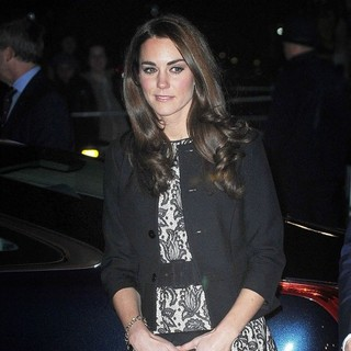Kate Middleton in Gary Barlow in Concert Raising Funds for The Prince's Trust - Arrivals