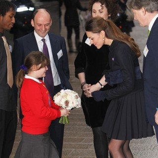 Kate Middleton in Duchess of Cambridge Leaves The Charity Place2Be