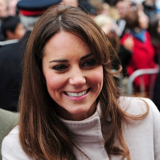 Kate Middleton in Prince William and Kate Middleton in Cambridge to Open Peterborough City Hospital