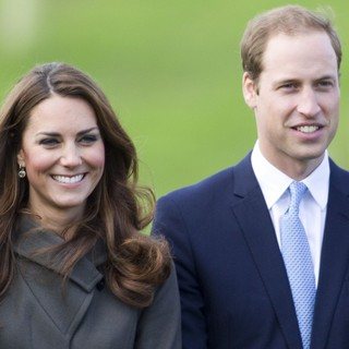 Kate Middleton, Prince William in The Official Opening of St. George's Park, The Football Association's National Football Centre