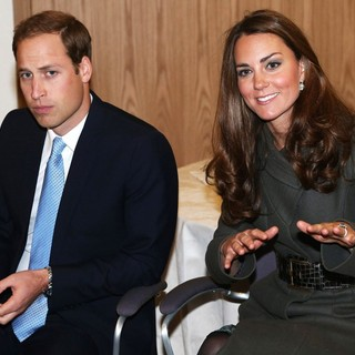 Prince William, Kate Middleton in The Official Opening of St. George's Park, The Football Association's National Football Centre