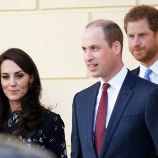 Kate Middleton, Prince William, Prince Harry-Duke and Duchess of Cambridge and Prince Harry Attend The Heads Up Charity