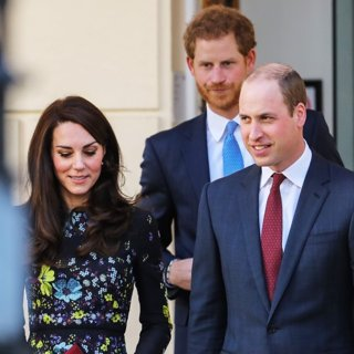 Kate Middleton, Prince Harry, Prince William-Duke and Duchess of Cambridge and Prince Harry Attend The Heads Up Charity
