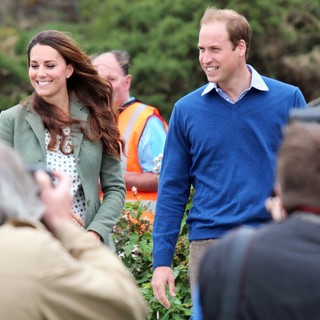 Kate Middleton, Prince William in The Ring O'Fire Anglesey Coastal Ultra Marathon