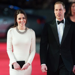 Kate Middleton, Prince William in The Royal Film Performance of Mandela: Long Walk to Freedom - Arrivals