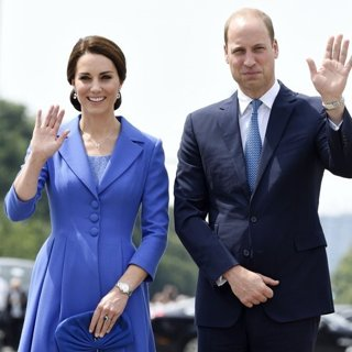 Kate Middleton, Prince William-The Duke and Duchess of Cambridge Visit The Brandenburg Gate