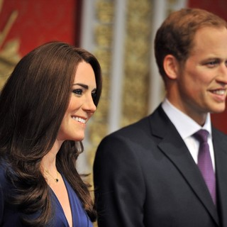 Kate Middleton, Prince William in Madame Tussauds London Reveals The New Wax Figures of Prince William and Kate Middleton