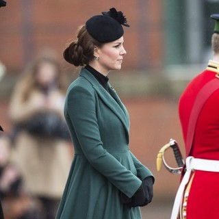 Kate Middleton in St. Patrick's Day Military Parade