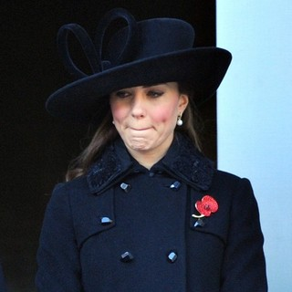 Kate Middleton in Sunday Commemorating Sacrifices of The Armed Forces