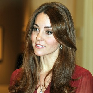 Kate Middleton in Kate Middleton Views A New Portrait of Herself by Paul Emsley