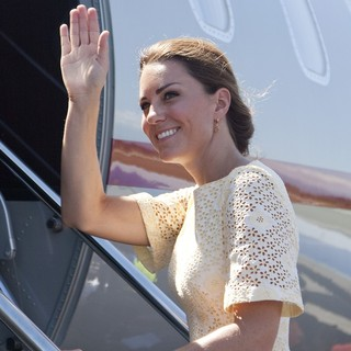 Kate Middleton in Visiting Solomon Islands and Depart for Tuvalu
