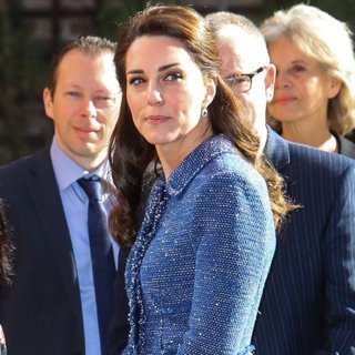The Duchess of Cambridge Visits Ronald McDonald House Evelina London
