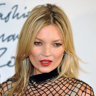 Kate Moss - British Fashion Awards 2011 - Press Room