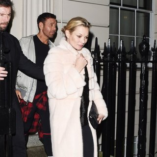 Kate Moss - Party at Madonna's Home