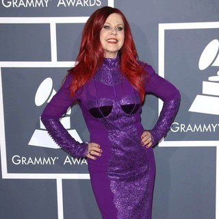 Kate Pierson in 55th Annual GRAMMY Awards - Arrivals